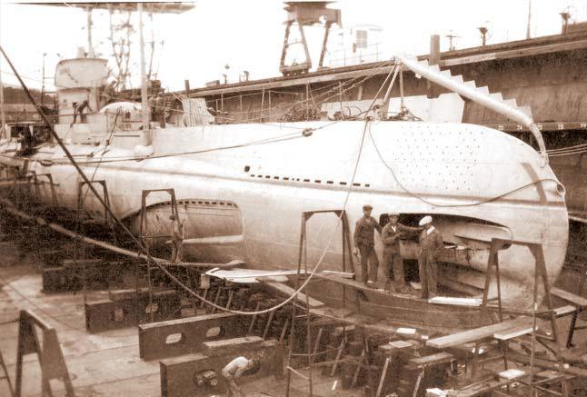 Румынская подводная лодка «Дельфинул»