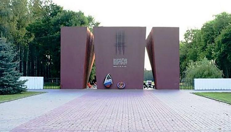 Мемориальный комплекс на месте расположения Дулага 126. В этом лагере гитлеровцами были уничтожены не менее 60 тыс. человек. г.Смоленск.