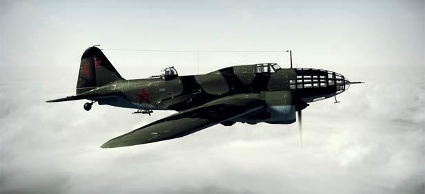 Советский дальний бомбардировщик ДБ-3Ф (Ил-4)