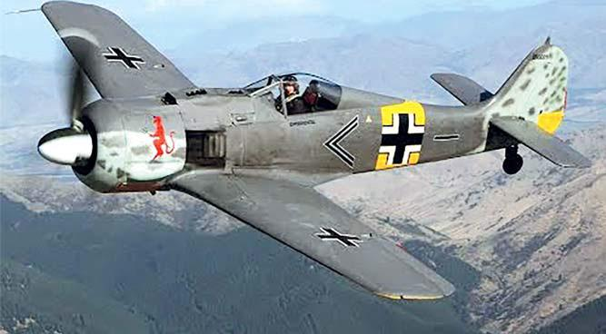 Истребитель-бомбардировщик «Фокке-Вульф» FW.190F-8