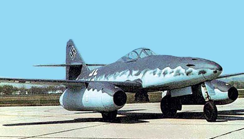 Реактивный истребитель «Мессершмитт» Ме-262А